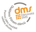 dárcovská SMS logo